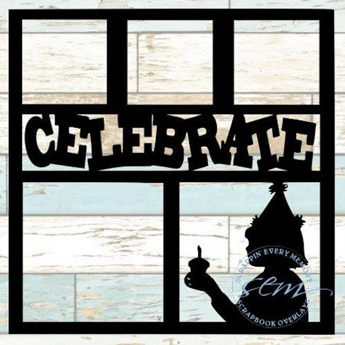 Celebrate Scrapbook Overlay