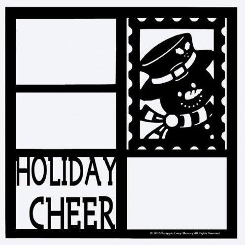 Holiday Cheer Scrapbook Overlay