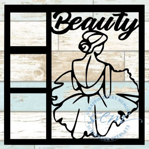 Beauty Scrapbook Overlay