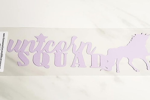 Unicorn Squad Scrapbook Deluxe Die Cut
