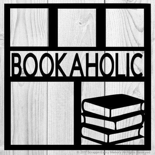 Bookaholic Scrapbook Overlay