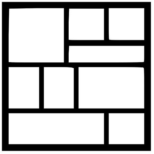 Frame 012 Scrapbook Overlay
