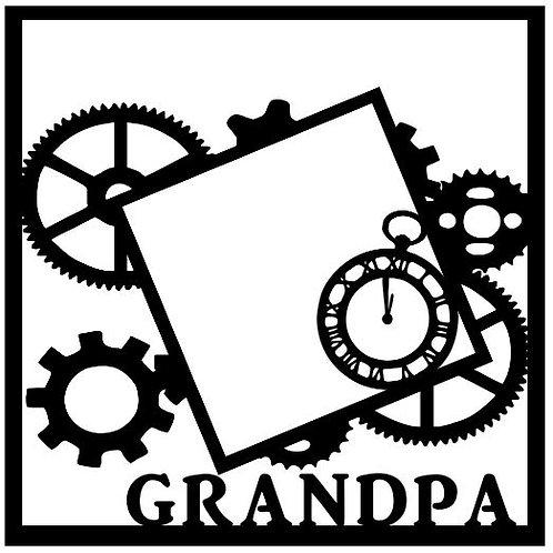 Grandpa Scrapbook Overlay
