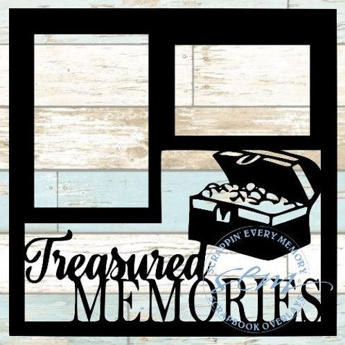 Treasured Memories Scrapbook Overlay