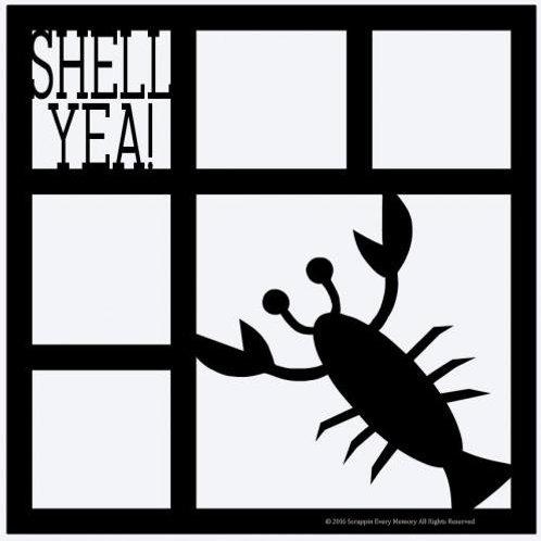 Shell Yea Scrapbook Overlay