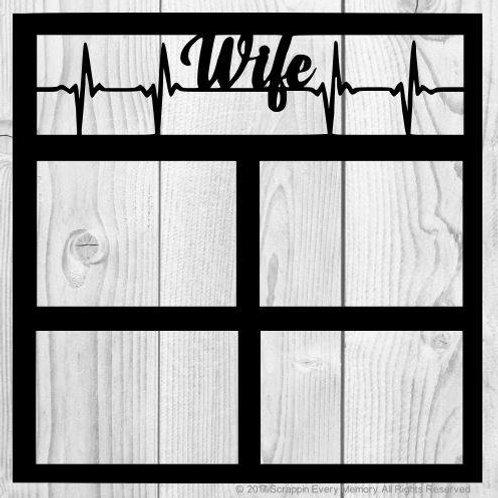 Wife Scrapbook Overlay