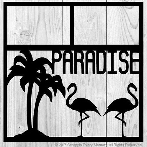 Paradise Scrapbook Overlay