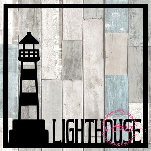 Lighthouse Scrapbook Overlay