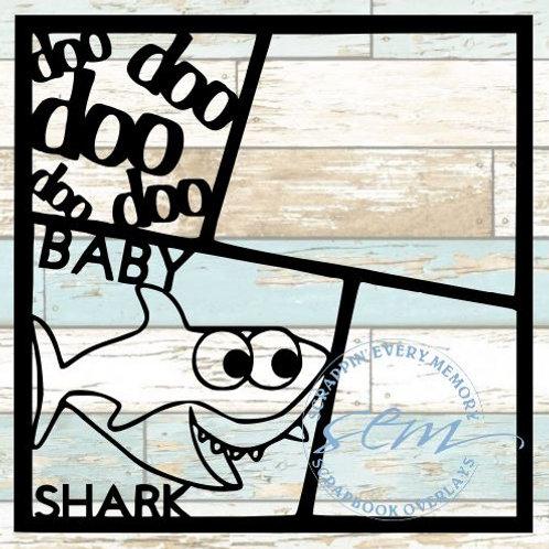 Baby Shark Scrapbook Overlay