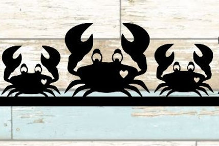 Crabs Scrapbook Border