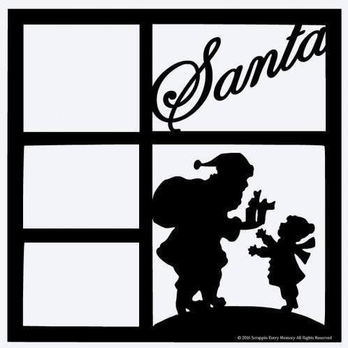 Santa Scrapbook Overlay