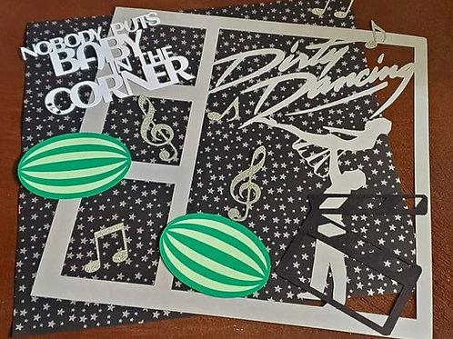 Dirty Dancing Scrapbook Page Kits
