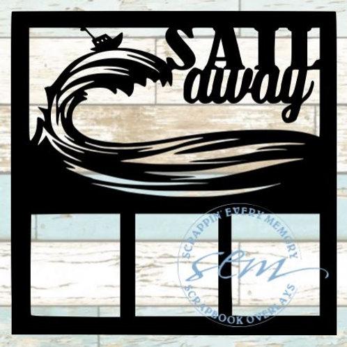 Sail Away Scrapbook Overlay