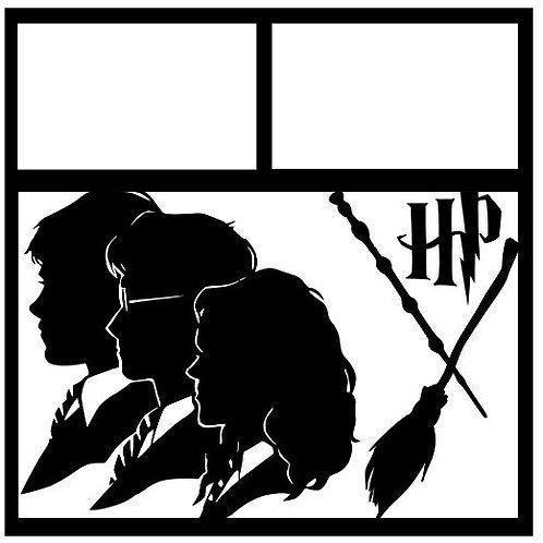 Harry Potter Scrapbook Overlay