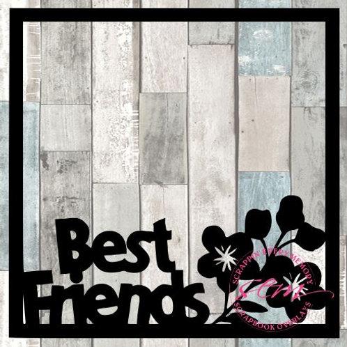 Best Friends Scrapbook Overlay