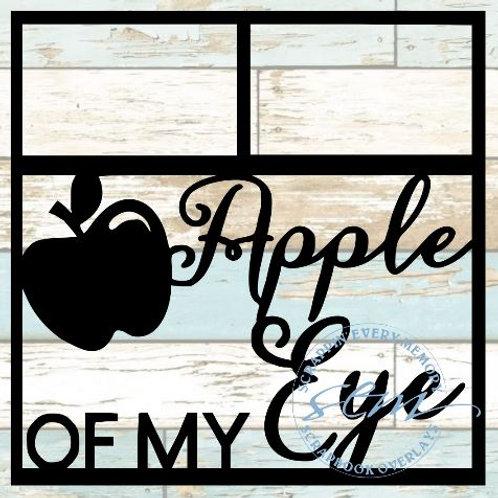 Apple Of My Eye Scrapbook Overlay