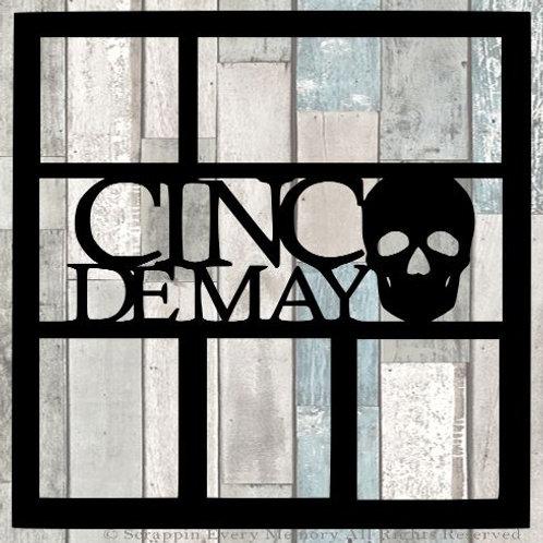 Cinco De Mayo Scrapbook Overlay