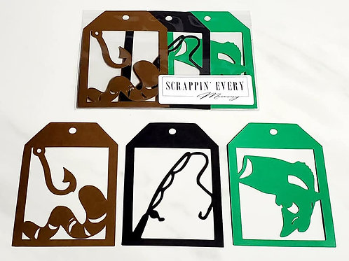Fishing Deluxe Word Tags