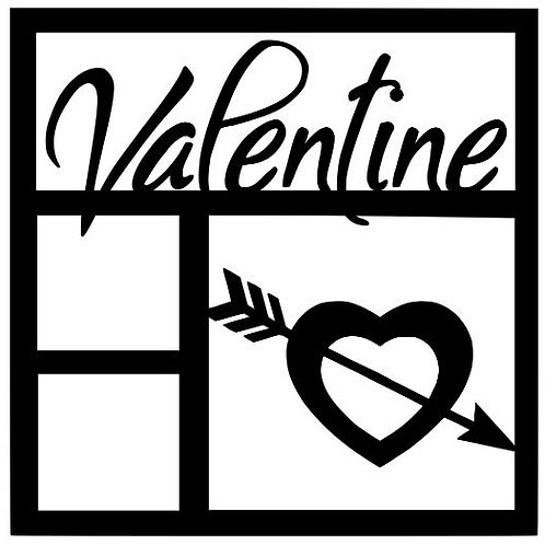 Valentine Scrapbook Overlay