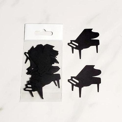 Pianos Itsy Bitsy Embellishments