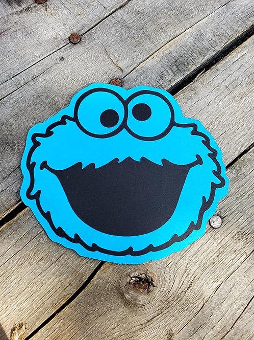 Cookie Monster Paper Piecing Die Cut