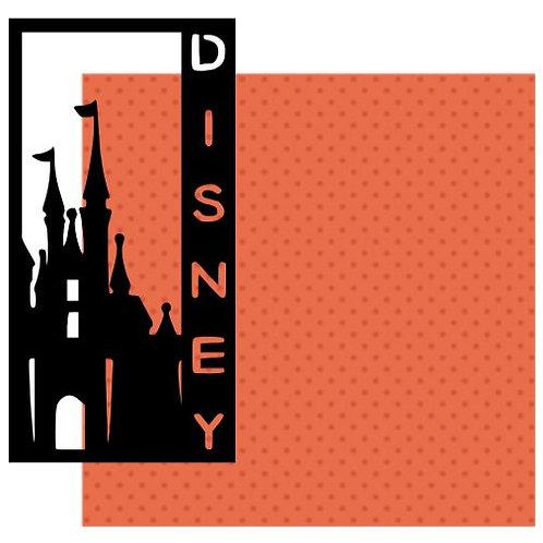Disney Vertical Scrapbook Title