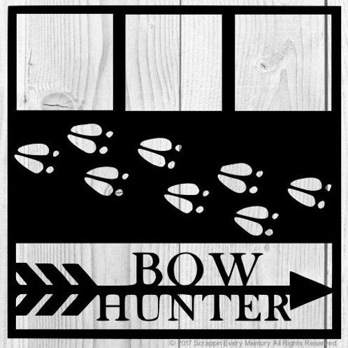 Bow Hunter Scrapbook Overlay