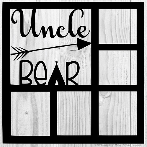 Uncle Bear Scrapbook Overlay