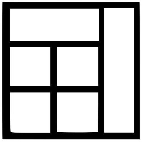 Frame 019 Scrapbook Overlay