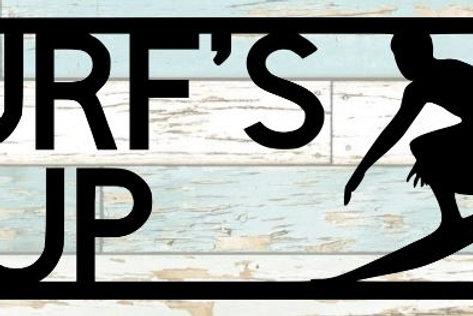 Surf's Up Scrapbook Title