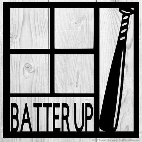 Batter Up Scrapbook Overlay