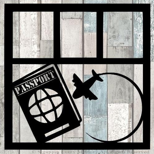Passport Scrapbook Overlay