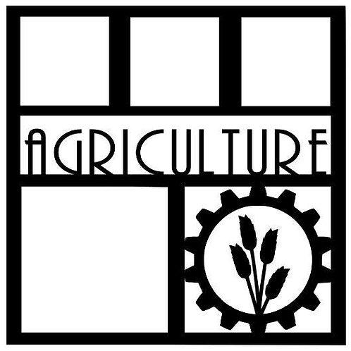 Agriculture Scrapbook Overlay