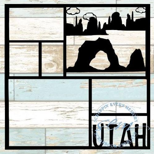 Utah Scrapbook Overlay