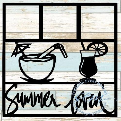 Summer Lovin' Scrapbook Overlay