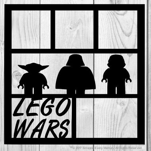 Lego Wars Scrapbook Overlay
