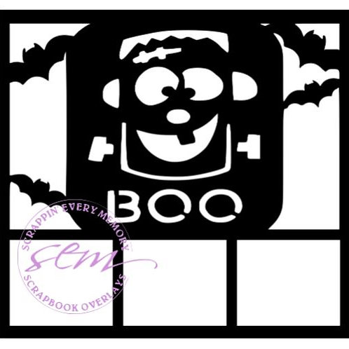 Boo Scrapbook Overlay