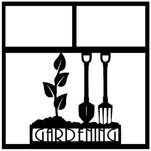 Gardening Scrapbook Overlay