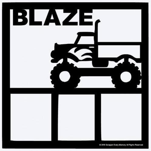 Blaze Scrapbook Overlay