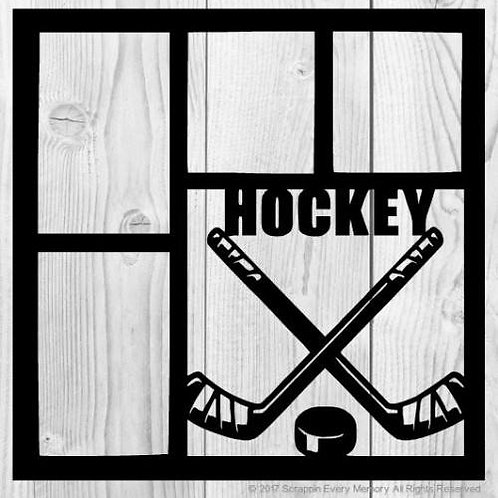 Hockey Scrapbook Overlay