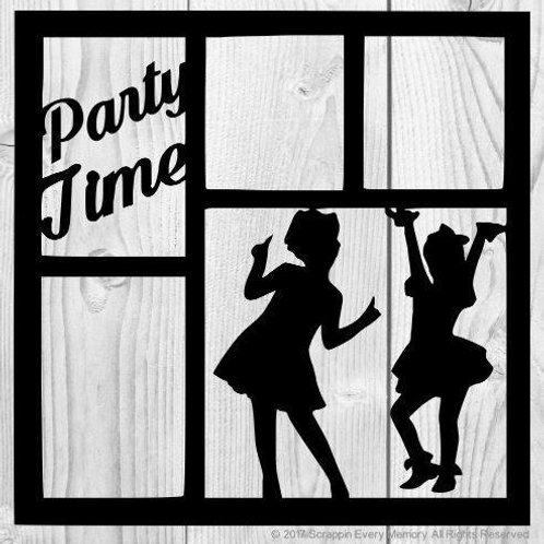 Party Time Scrapbook Overlay