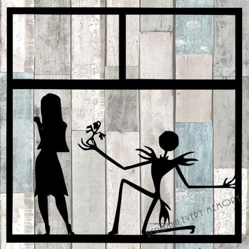 Jack & Sally Scrapbook Overlay