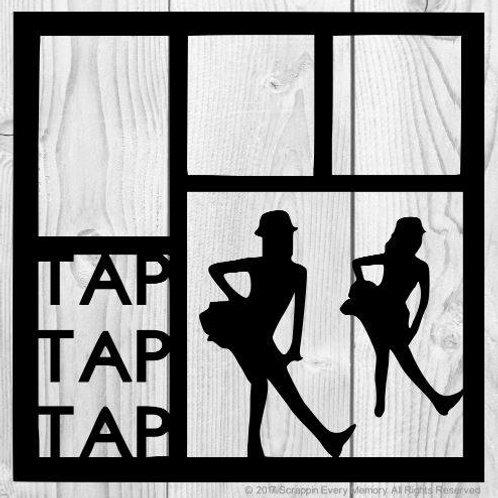 Tap Tap Tap Scrapbook Overlay