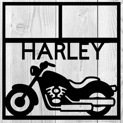 Harley Scrapbook Overlay