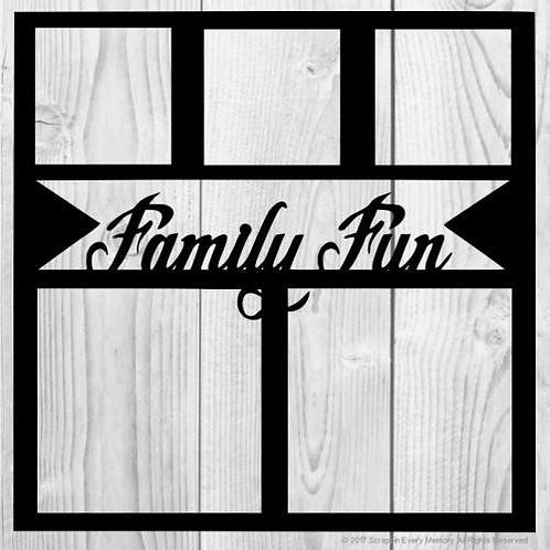 Family Fun Scrapbook Overlay