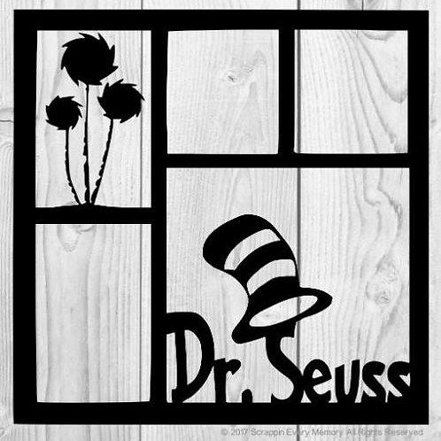 Dr. Seuss Scrapbook Overlay