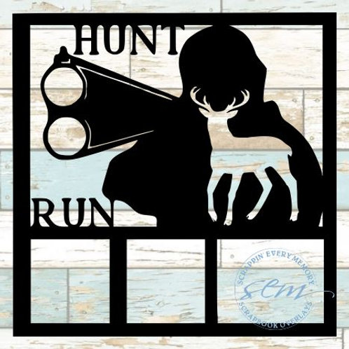 Hunt Run Scrapbook Overlay