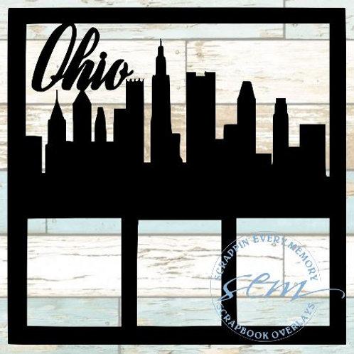 Ohio Scrapbook Overlay