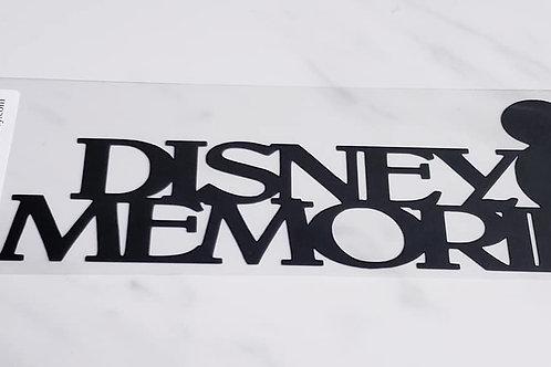 Disney Memories Scrapbook Deluxe Die Cut