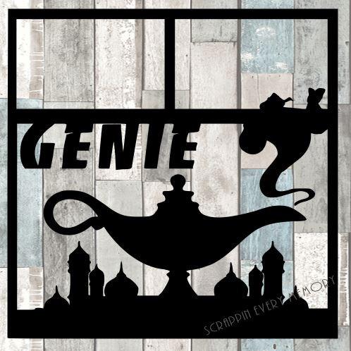 Genie Scrapbook Overlay